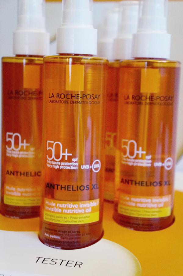 La Roche-Posay, LA ROCHE-POSAY Anthelios  Silky Oil SPF50+, LA ROCHE-POSAY  solcreme, LA ROCHE-POSAY  sun screen