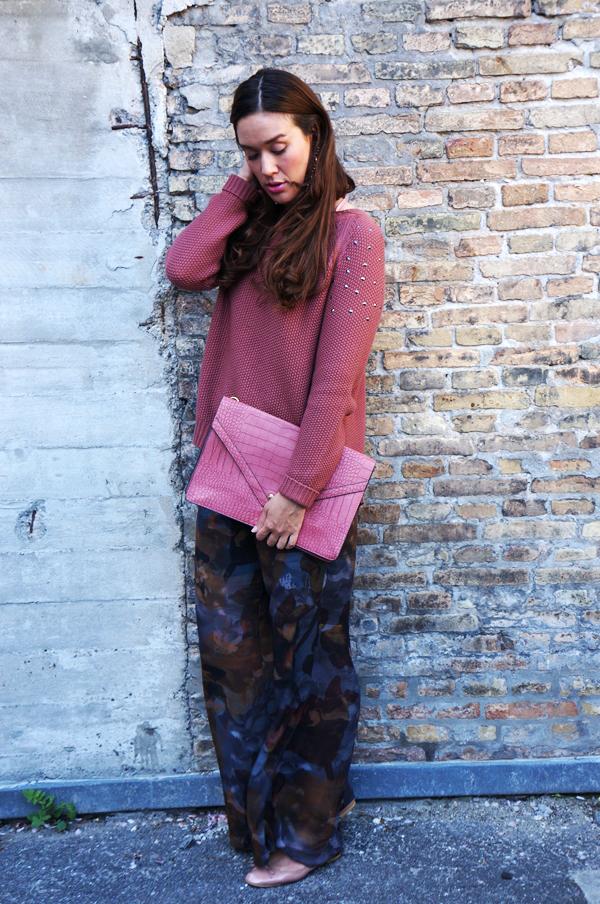 oversize clutch, pink clutch, stor taske, delancefashion, webshop taske