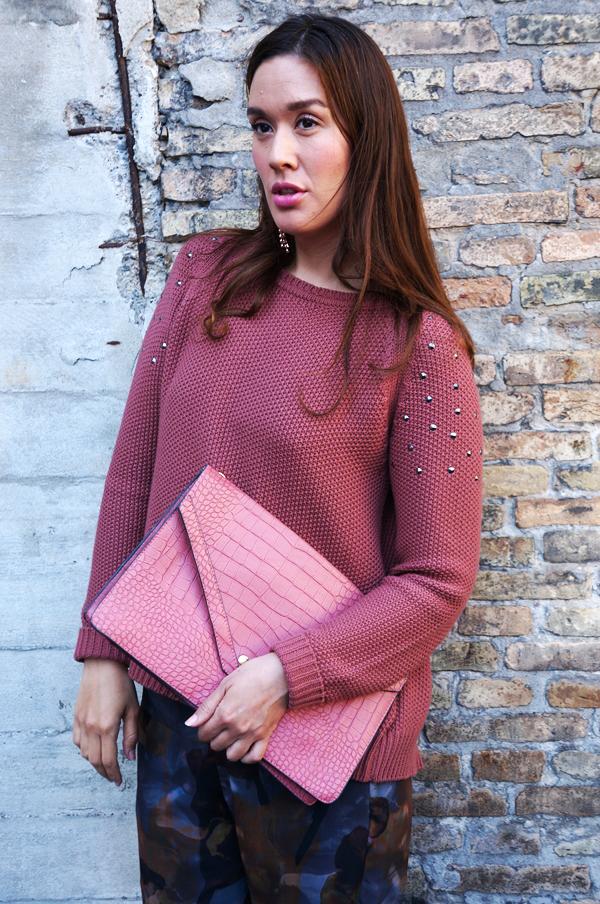 lyserød clucth, pink clutch, modeblog online shop,