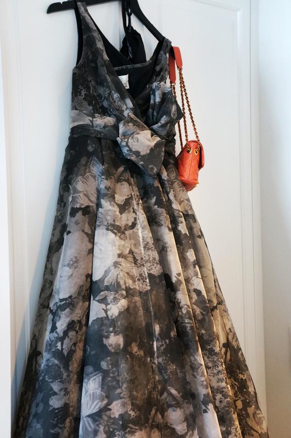 det nye d'angleterre, designer kjole