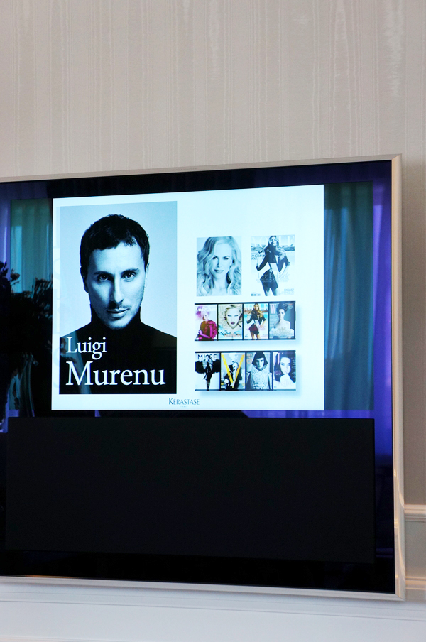 Luigi Murenu hair stylist, Luigi Murenu kerastase