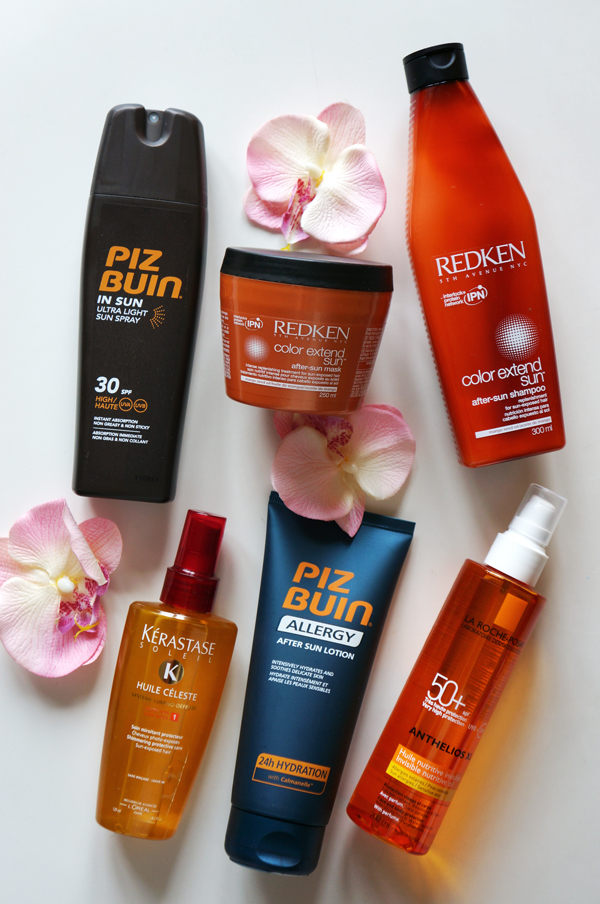 redken Color Extend Sun After-Sun Mask 	 Color Extend Sun After-Sun Mask, redken Color Extend Sun After-Sun Mask 	 Color Extend Sun After-Sun shampoo, 	 PIZ BUIN ALLERGY, piz buin solcreme, piz buin sun screen, piz buin after sun, la roche posay ANTHELIOS SPF 50+ Invisible nutritive oil
