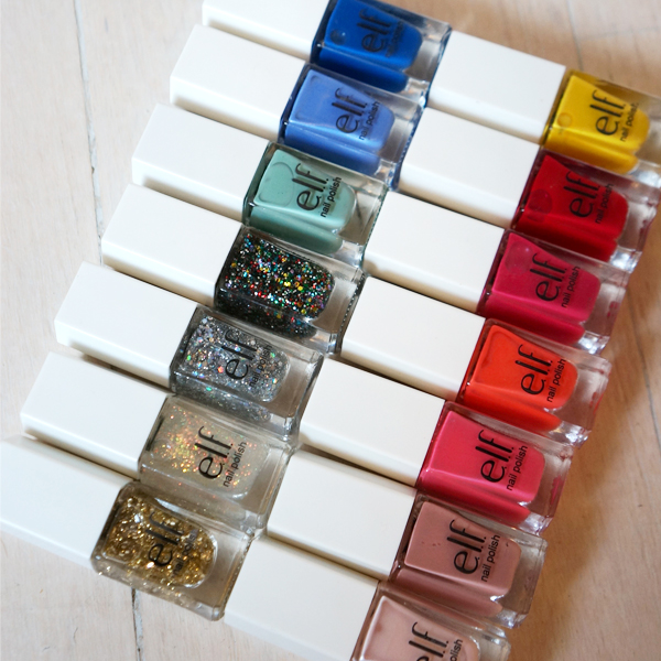elf cosmetics 14pc nailcube