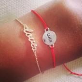 monsoon accessorize, love bracelet, love armbånd, luck bracelet, luck armbånd