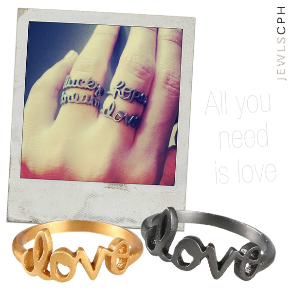 24 karat forgyldt sterling sølv, love ring, love rings, guld love ring, sølv love ring, jewls cph, mai manniche jewlscph