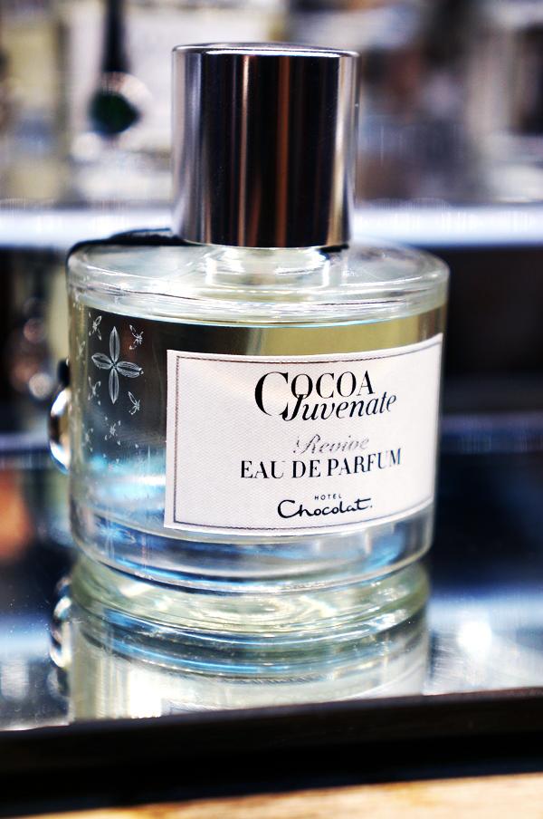 Hotel Chocolat parfume, Hotel Chocolat duft, cacao parfume
