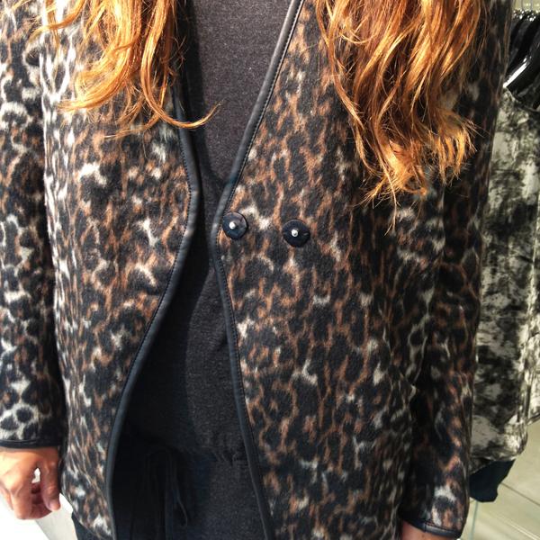 vila leopard jakke, vila leopard jcket