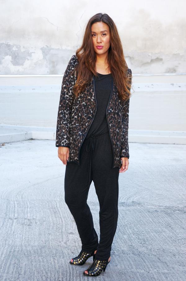 blogoutfit, blogger tøj, buksedragt grå