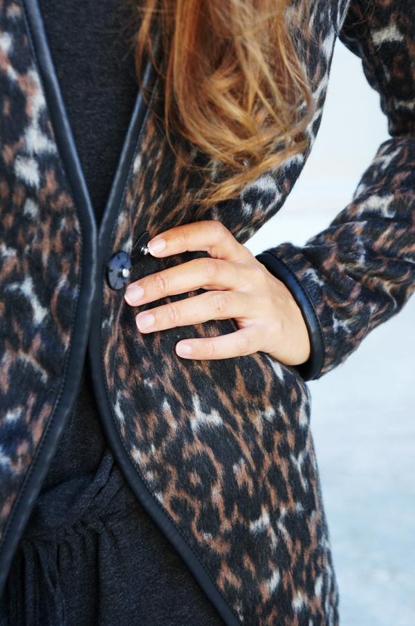 vila jakke leopard, vila efterår, moda women, blogger saint tropez