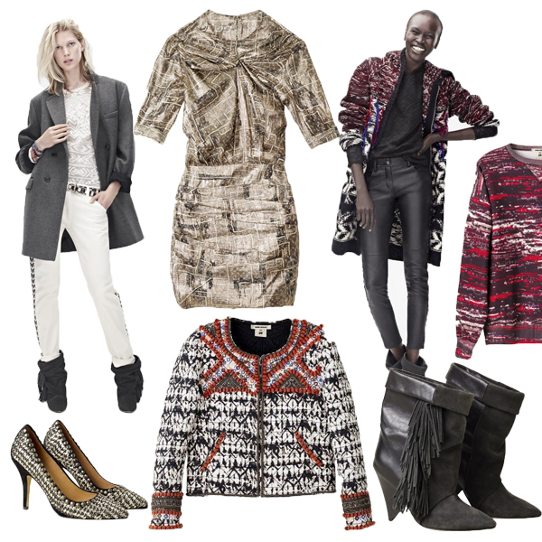 Isabel Marant Pour H&M collection, Isabel Marant for H&M, hm isabel november, Isabel Marant Pour H&M collection 2013