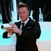 Jannick Gram, bartender, Balthazar Champagne Bar