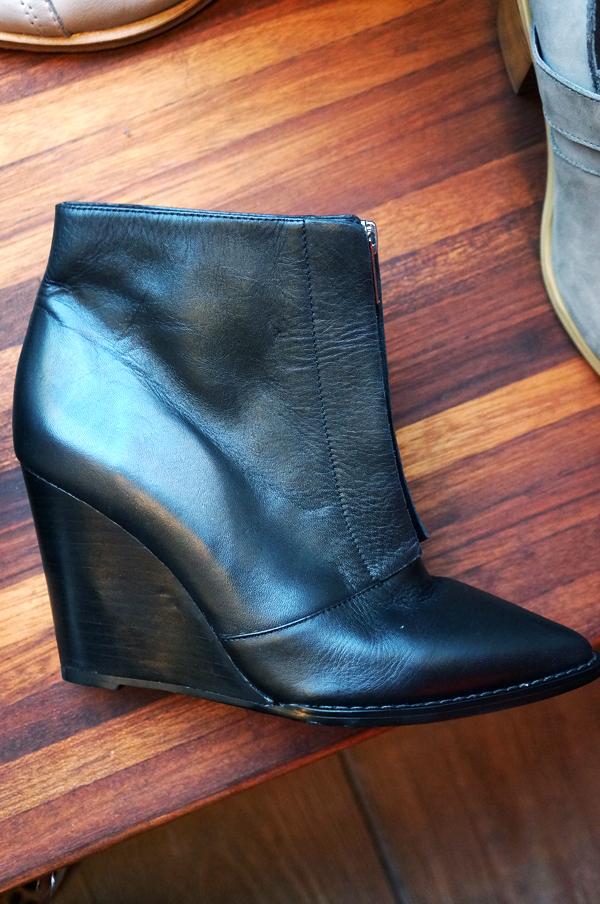bianco vinterstøvler 2013, bianco aw 13, bianco kilehæle, støvler med kilehæl, ankelstøvler, sorte støvler, blogger støvler, black ankel boots, boots with wedge heel, wedge boots