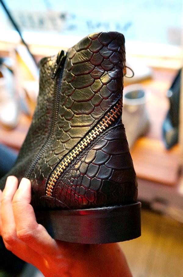 slangeprint støvler, cool vinter støvler, bianco vintersko, bianco event, bianco blogger event, snake print boots, zipper boots, lynlås støvler