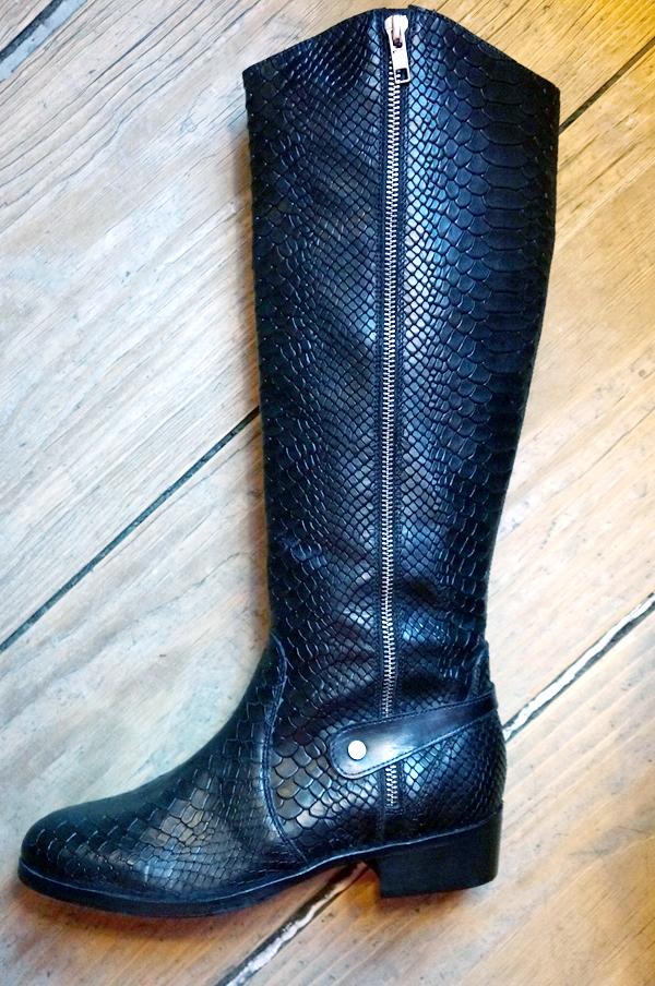 lange støvler, bianco støvler, vinterstøvler 2013, slangeprint støvler, snake print boots