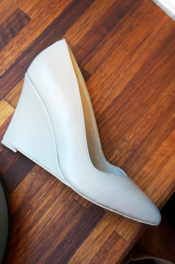 hvide kilehæle, bianco sommer 2014, white wedge heels