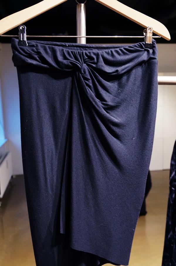 American Vintage jersey nederdel, American Vintage basis nederdel, American Vintage  draperet nederdel