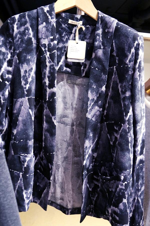 American Vintage Silke Bomber,  American Vintage blazer,  American Vintage  aw 13,  American Vintage  silke blazer, batik print silke blazer,  American Vintage print