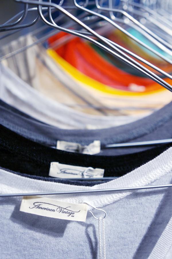 American Vintage AW13,  American Vintage basic tank tops,  American Vintage t-shirts,  American Vintage copenhagen,  American Vintage københavn