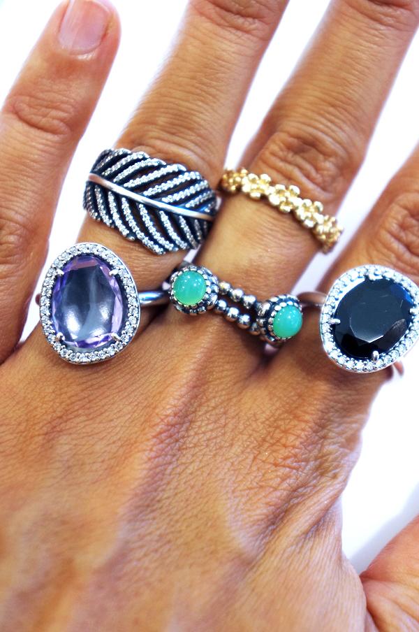 pandora feather story, pandora aw13 pandora ringe, pandora rings