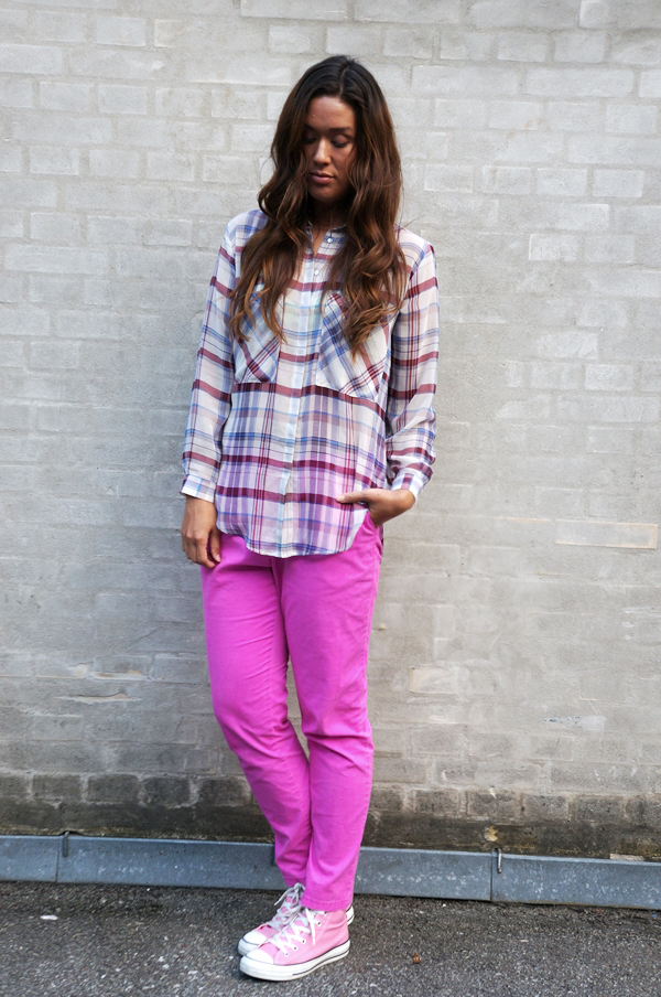 blogger outfit, pink outfit