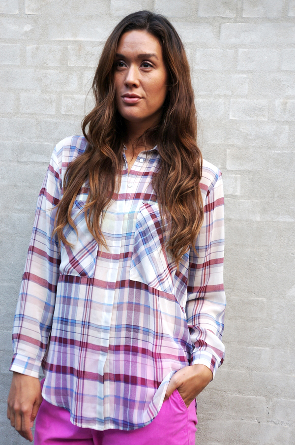zara skjorte,checkered shirt, checkered blouse