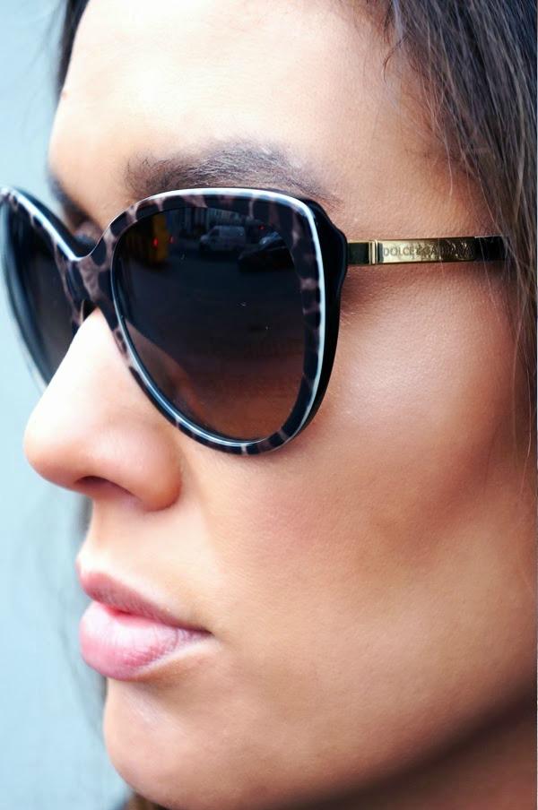 guld leopard solbriller, dolce & gabbana aw13, dolce & gabbana solbriller 2013