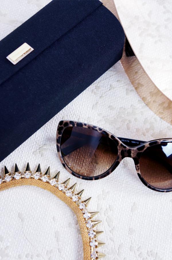 leopard solbriller D&G sunglasses, D&G solbriller