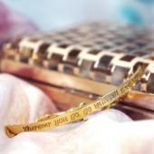 Guld armbånd, armlet, inklusiv gravering, Guld armbånd, KOBRA copenhagen accessories