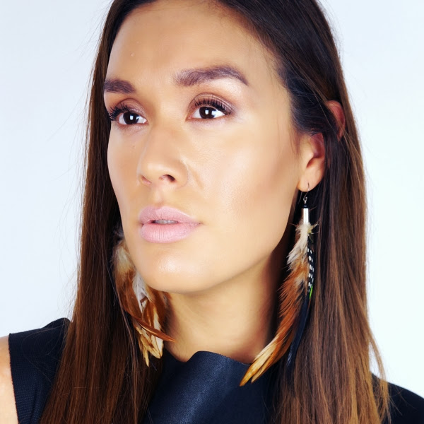 Pocahontas makeup, makeover eksotisk look