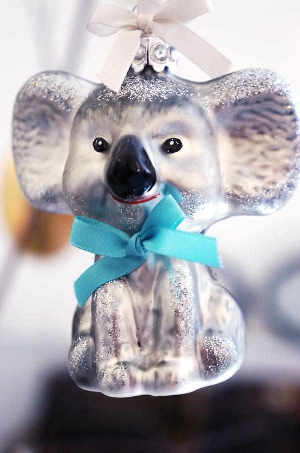 jule pynt, koalabjørn pynt