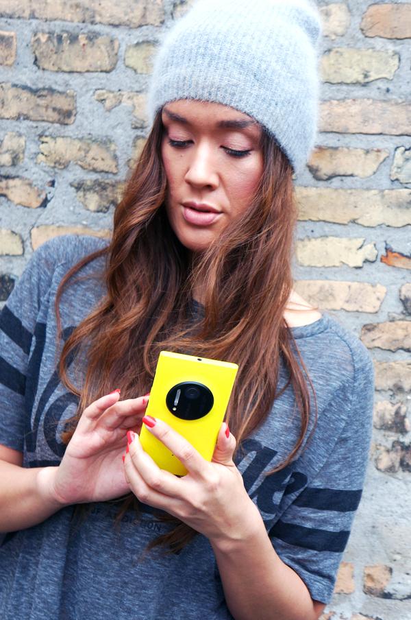 lumia telefon, nokia blog gul mobil