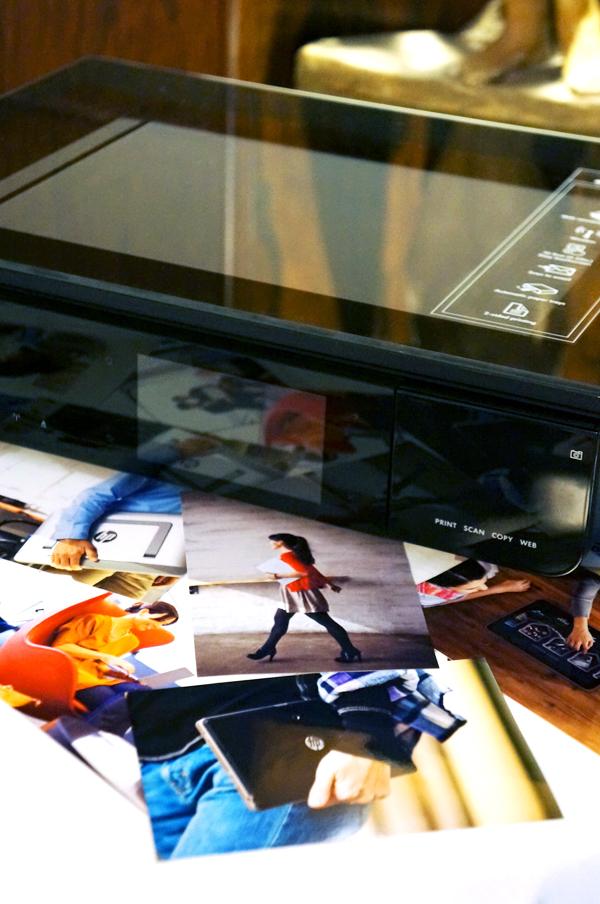 hp printer, print fine egne billeder hp