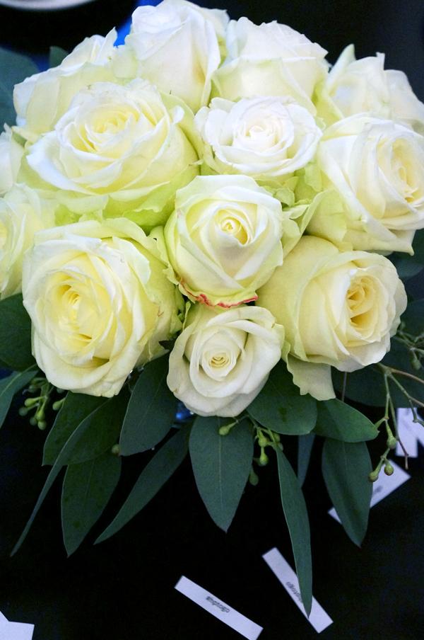 hp event, hp presse, hvide roser, white roses