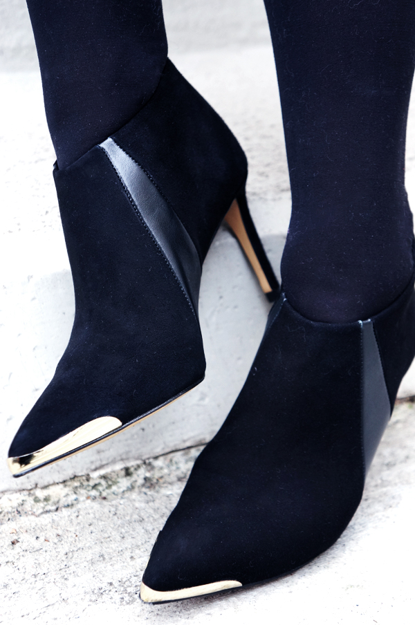 zara ankelstøvler, zara sko, zara ankel boots, black gold boots zara