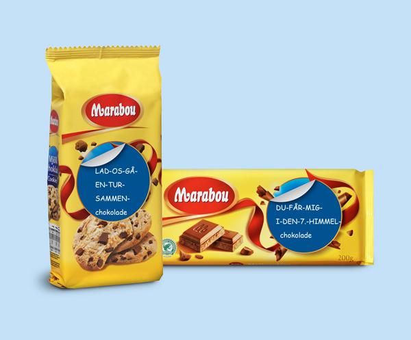 marabou blogger, marabou chokolade, marabou sjove budskaber