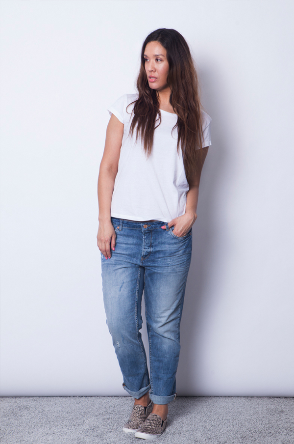 The feminine fit gina tricot blogger, boyfriend jeans, boyfriend denim