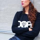 Jayde Black Dope Sweater, dope sweatshirt, omgfashion, webshop, cool street sweatshirt