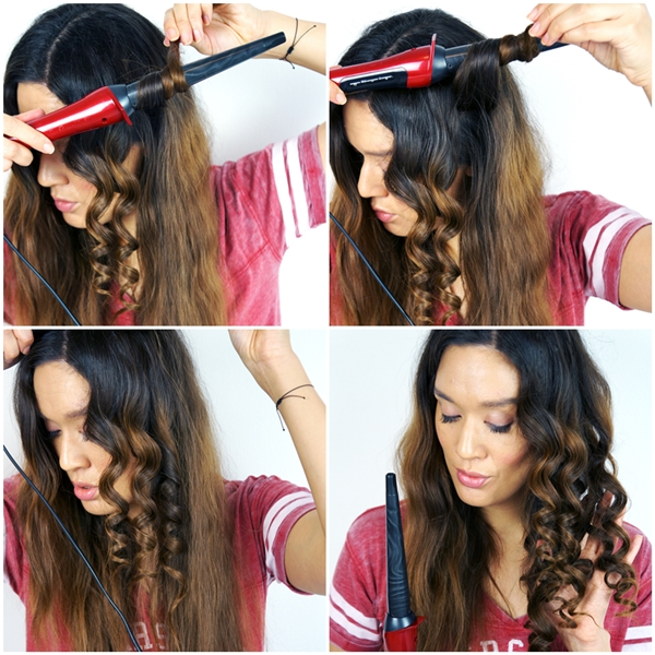 remington silk curling wand, krøllestav, remington hårstyling, remington hår guide, remington hair guide