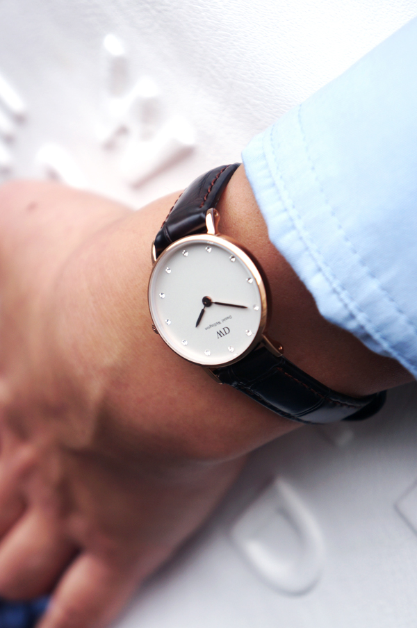 daniel wellington ur, daniel wellington clock, daniel wellington watch daniel wellington Classy York, læder rem ur