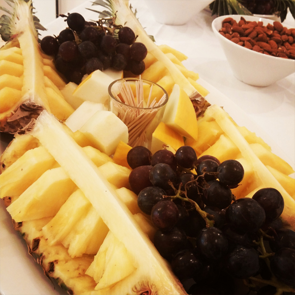 ananas fad, fruit, frugtfad, altid slank