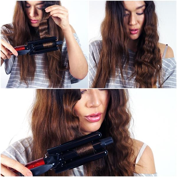 hair tutorial, hår guide, sådan laver du bølget hår, Artist wave maker obh