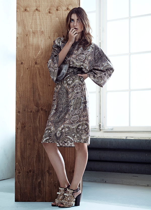 brokade kjole sæt hm, hm, H&M Conscious og Conscious Exclusive
