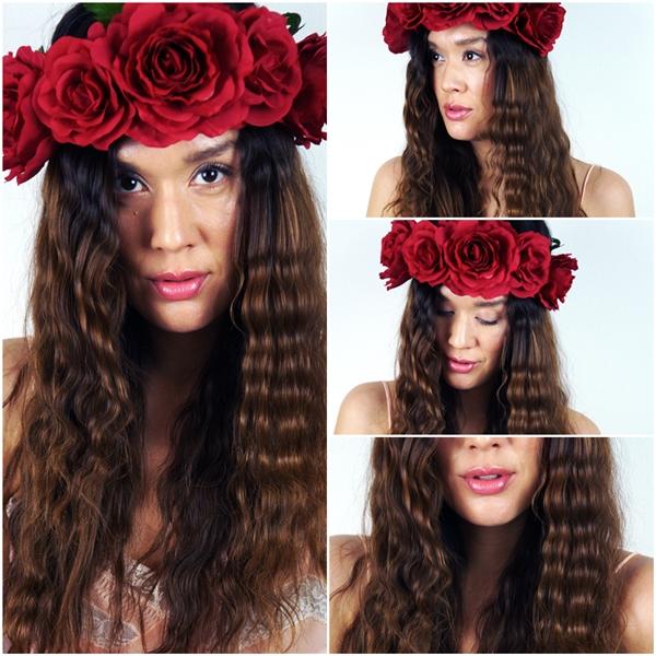festival hår, blomsterkrans hår, røderoser i håret, blomsterkrans hår, asos hair flowers, festival hair guide, hårguide