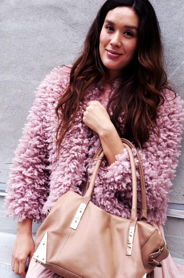 pink friday, plysset hm jakke