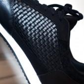 H&M sneakers, hm sko, hm flettede sneakers, braided sneakers, faux læder sneakers, braided shoes