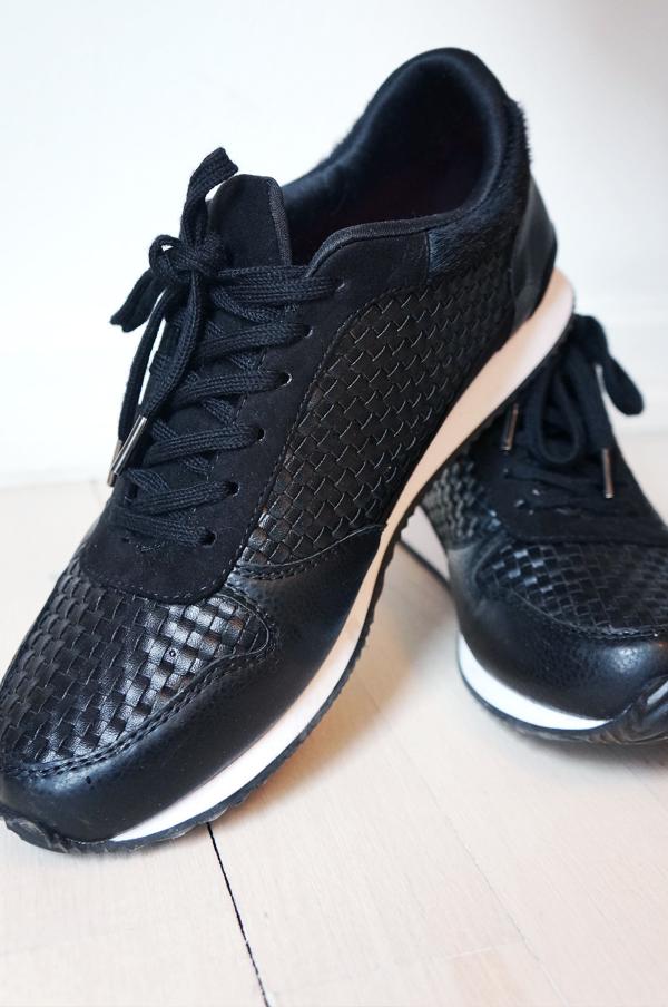 hm sko, hm sneaks, flettede sneakers