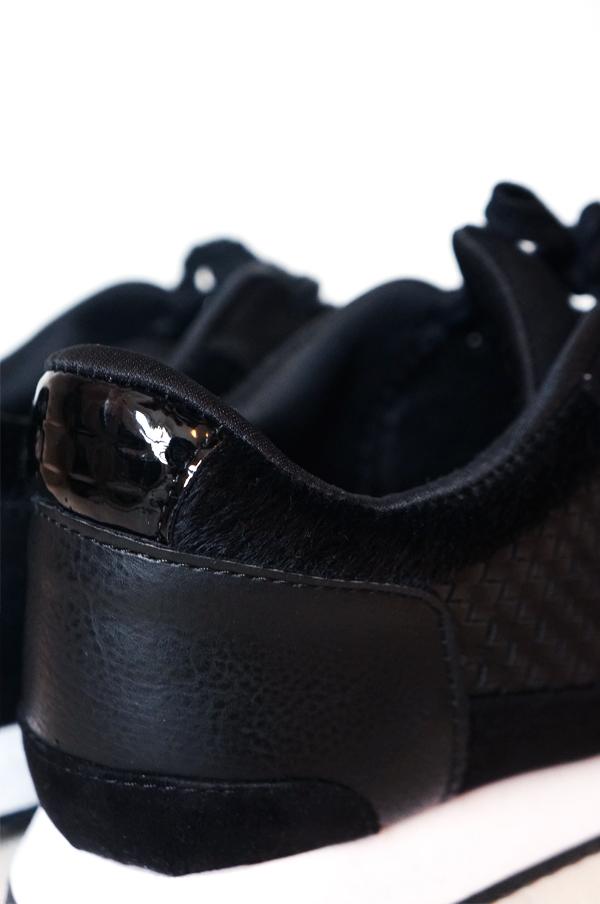 hm sorte sneakers, hm black sneakers