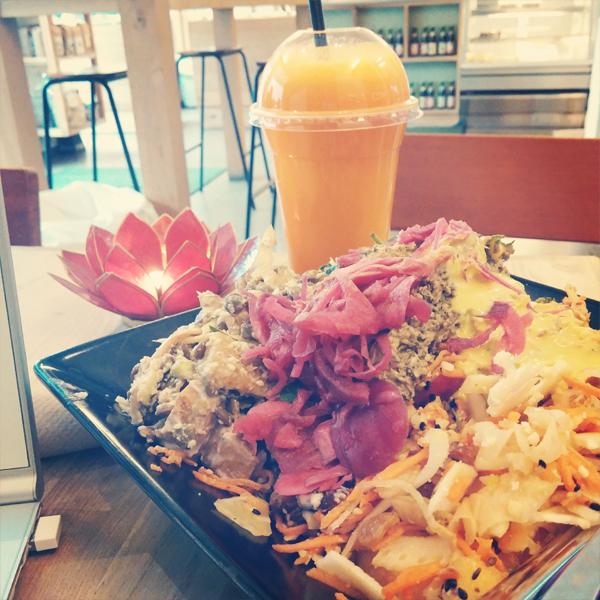 urtehuset sund salat, urtehuset cafe, sund salat