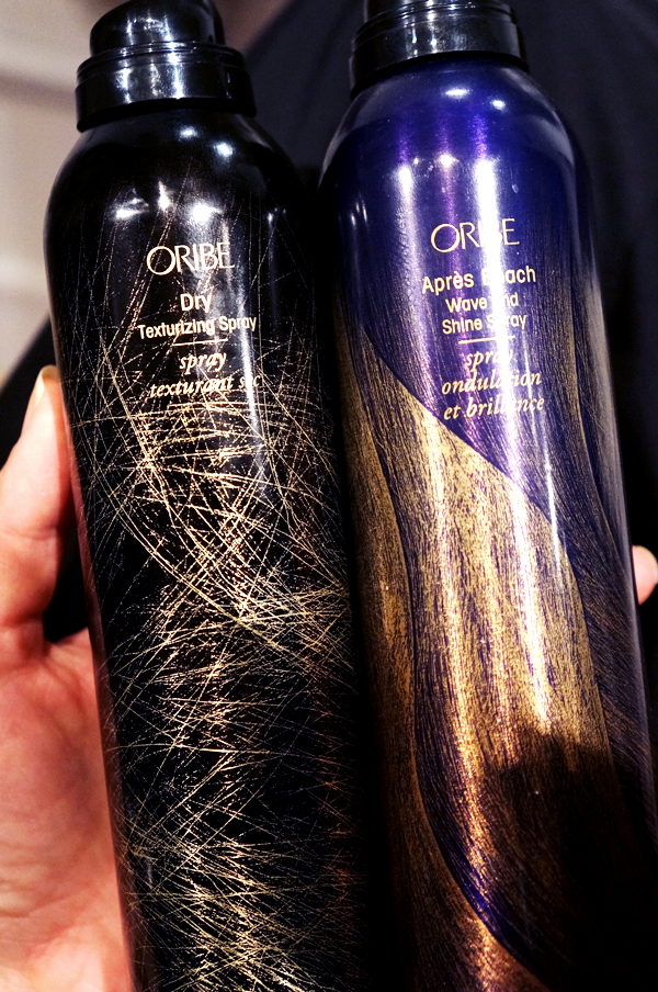 oribe shine spray, oribe texture spray, oribe hair products, oribe hår produkter