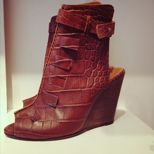 sarenza, wedges, brune slange wedges, sarenza blog, brown snake wedges